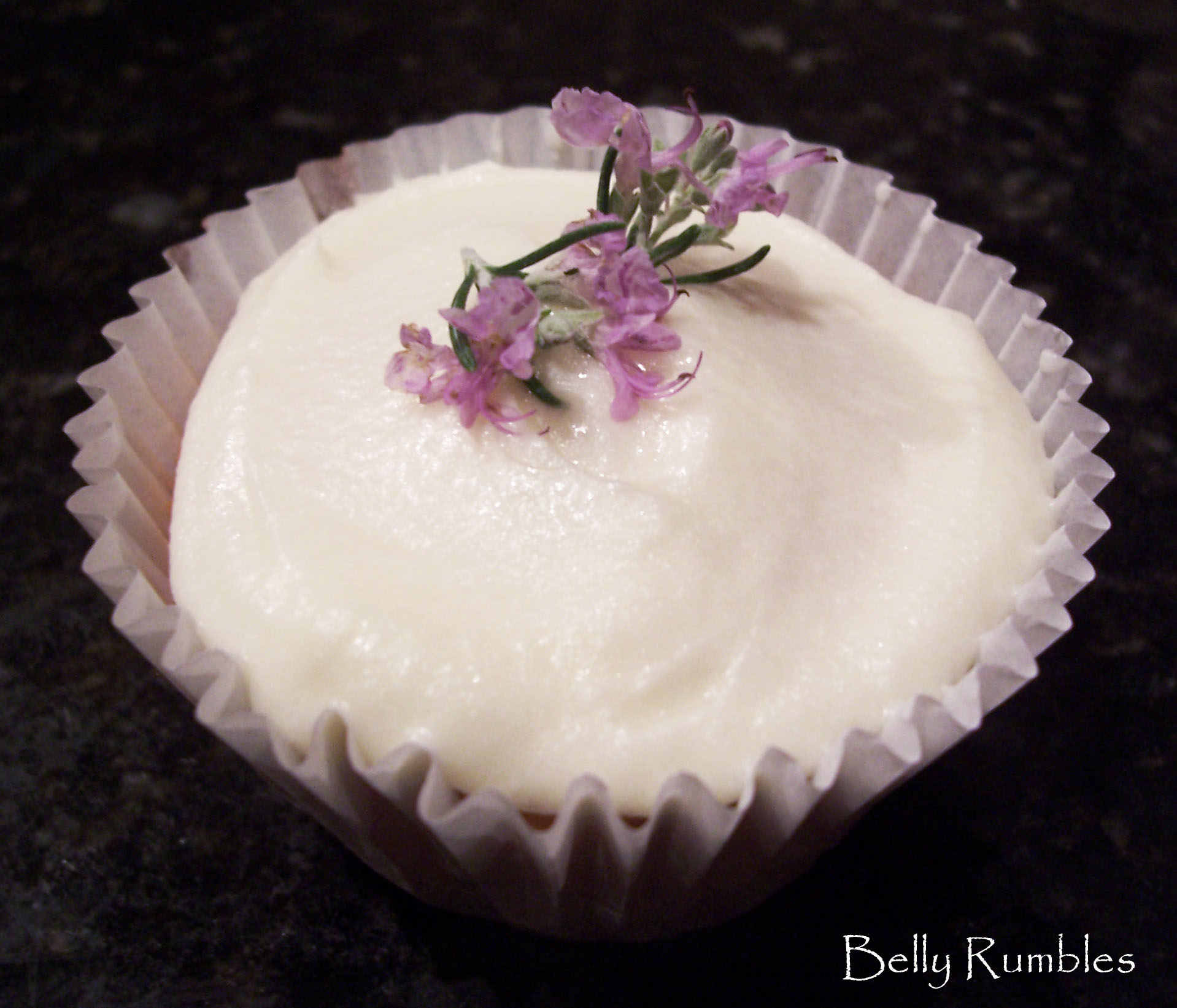 Lemon & Rosemary Jumbo Cup Cakes