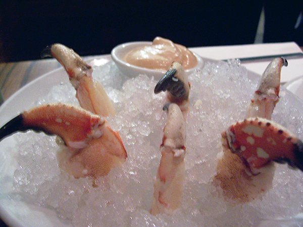 Momofuku Ssam Bar Crab