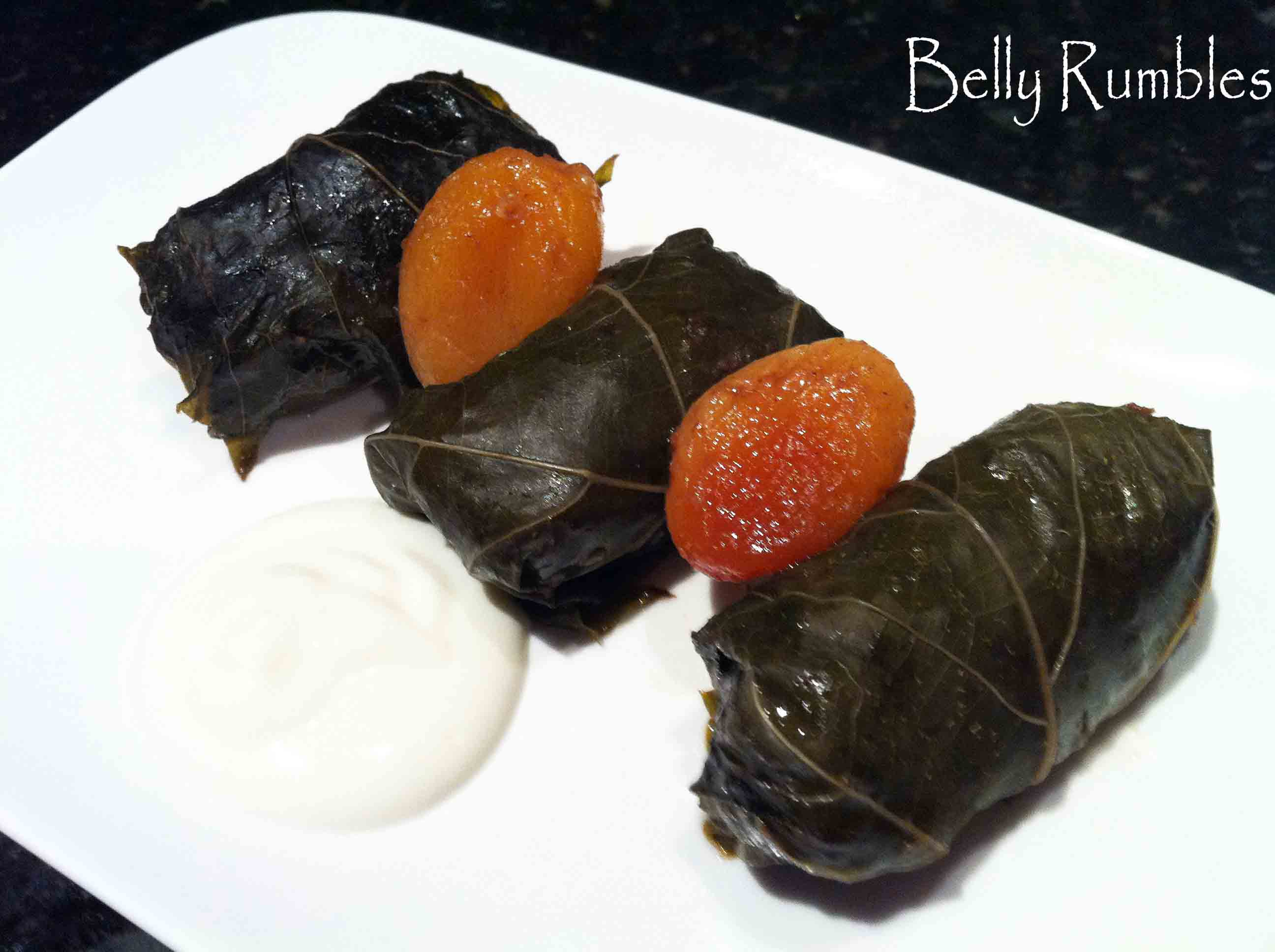 Daring Cook's Challenge, October – Stuffed Grape Leaves