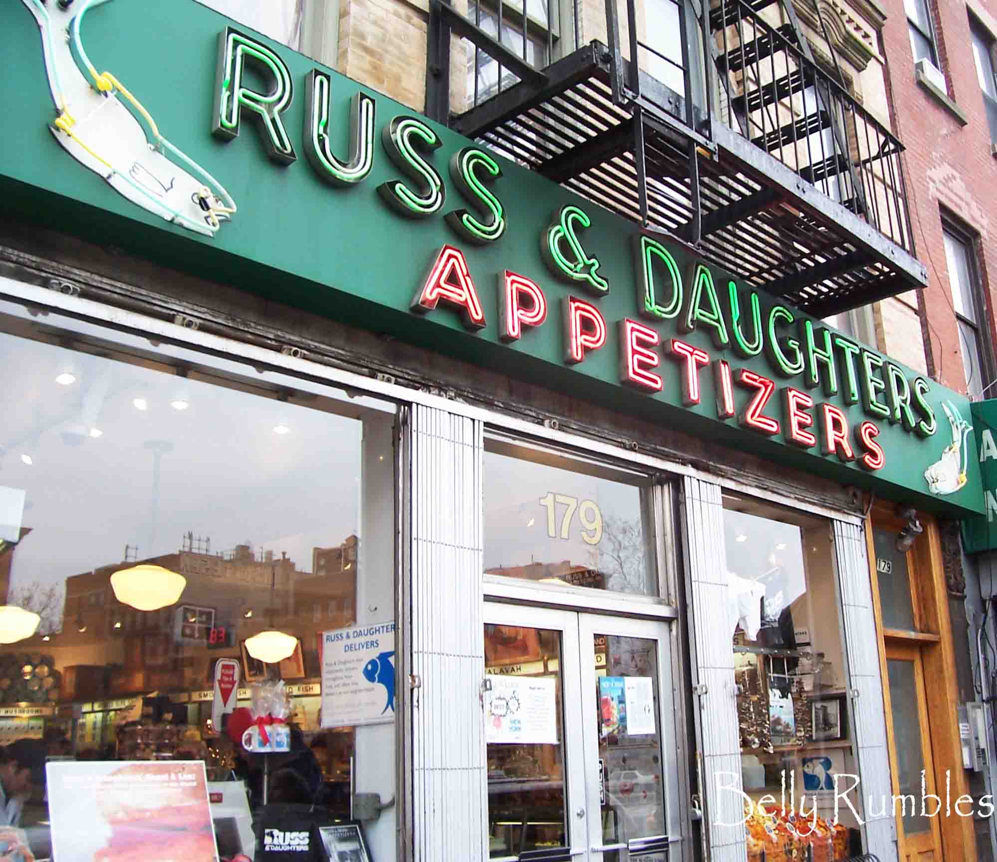Russ & Daughters Appetizers New York