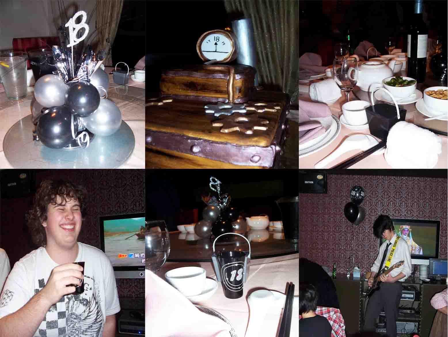 Zilver Chinese Restaurant Haymarket – Josh's 18th Birthday