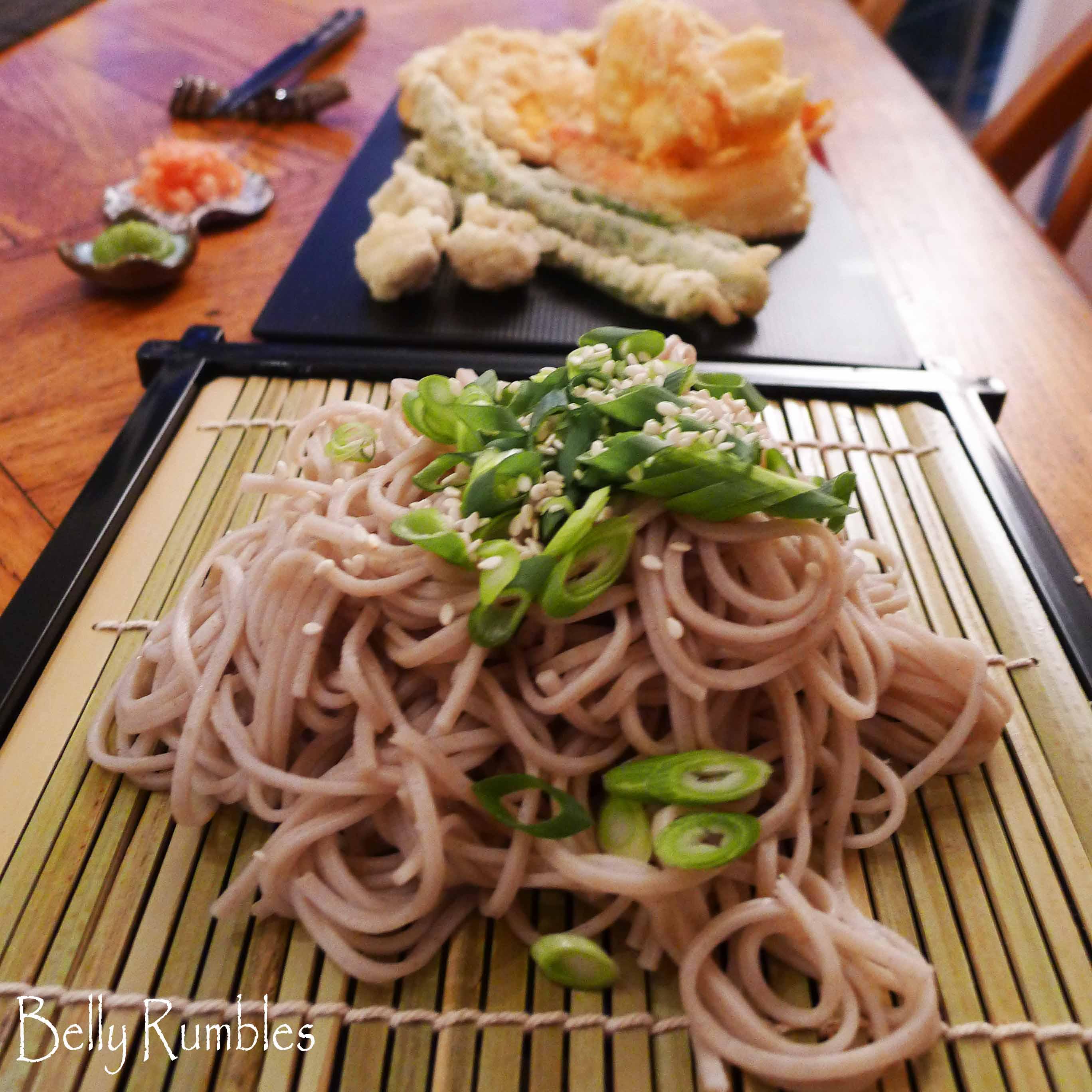 Hiyashi Soba Tempura Recipe