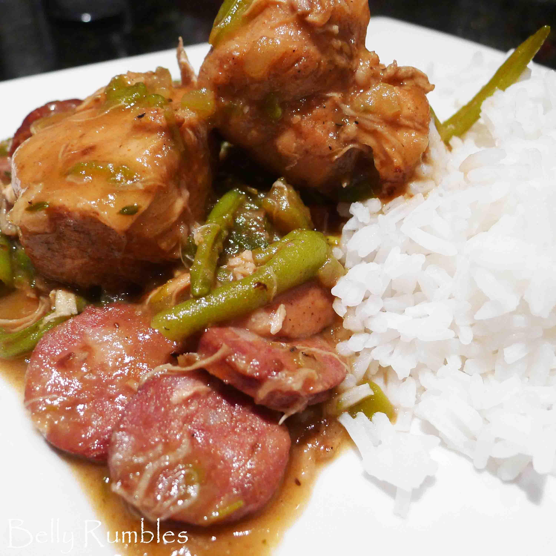 Chicken & Smoked Sausage Gumbo