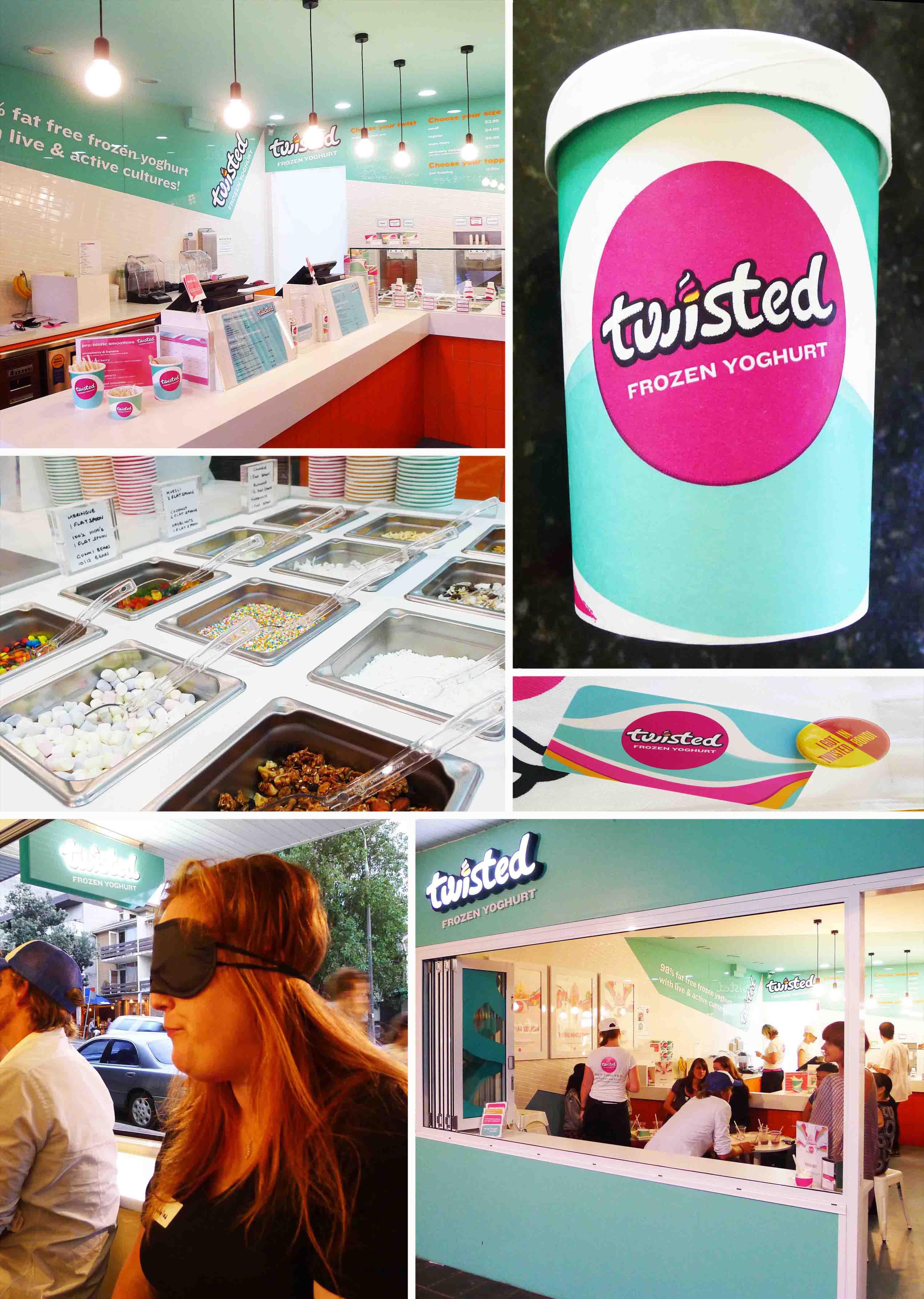 Let's Get Twisted!  Twisted Frozen Yoghurt Bondi Beach