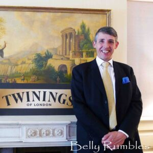 High tea with Stephen Twining