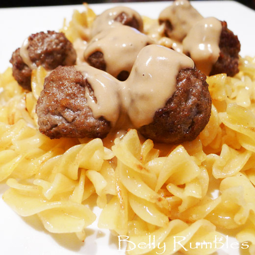 IKEA Tempe: Swedish Melty Meaty Balls (Köttbullar)