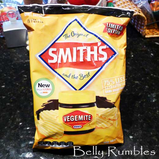 Vegemite Smith's Chips