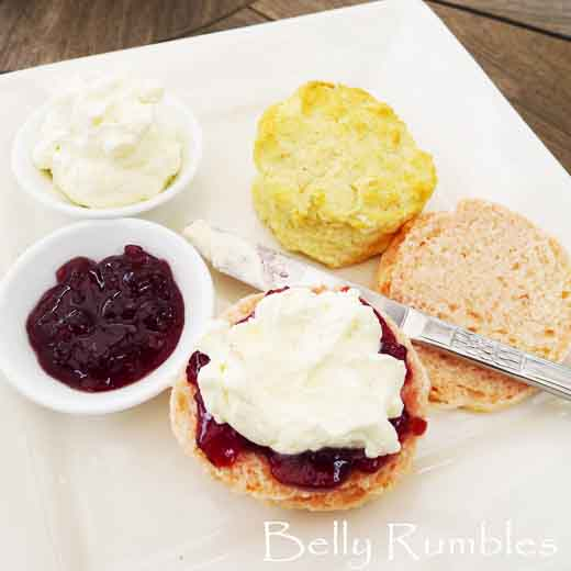 Lemonade Scone + Creaming Soda Scone Recipes