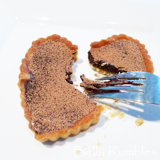 Chocolate Valentine Heart Tarts Recipe