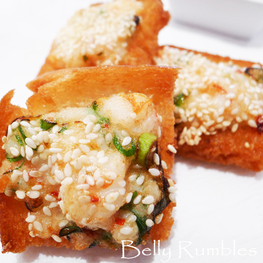 Quick & Easy Prawn Toast Recipe