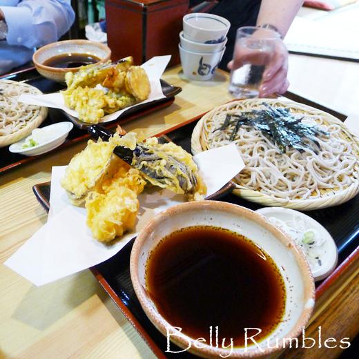 Choujyu an, Soba Restaurant, Ginza, Tokyo
