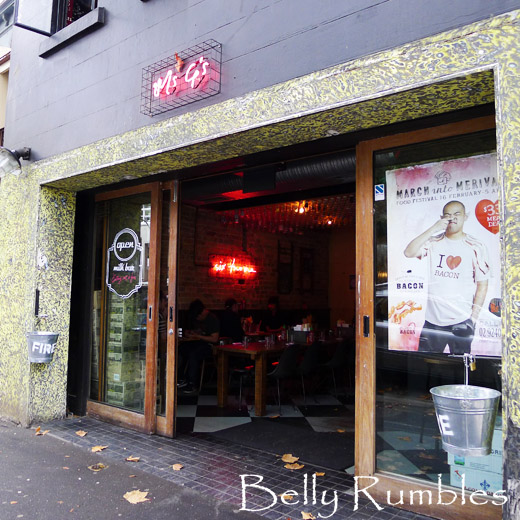 Milk Bar Memories – Ms.G's, Potts Point