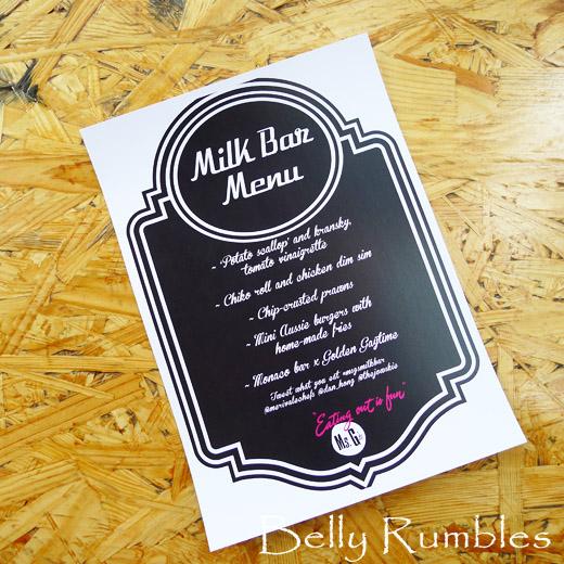 Milk Bar Memories