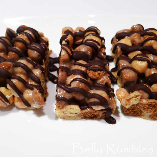 Reese's Puffs Marshmallow Slice
