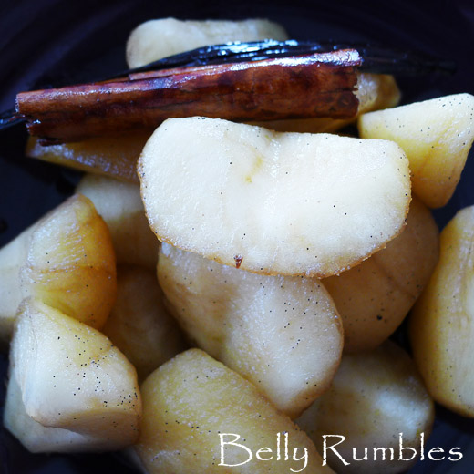 Marsala Poached Apple Recipe