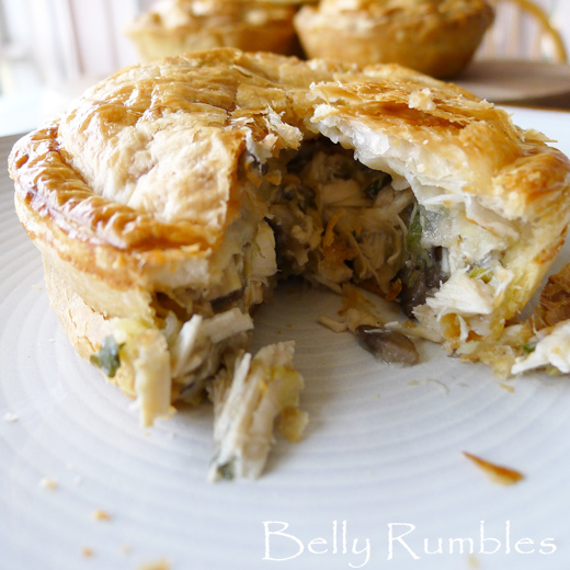 Chicken, Leek & Mushroom Pie – Recipe
