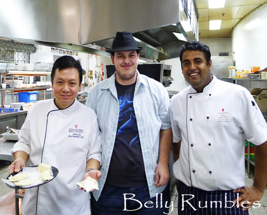 Josh Vs Chef Sunny Sai – The Curry Puff Challenge