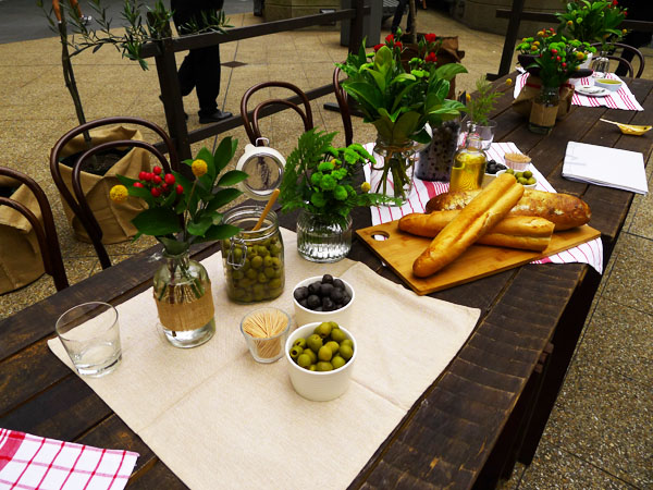 Spanish Olive Grove Pops up in Sydney