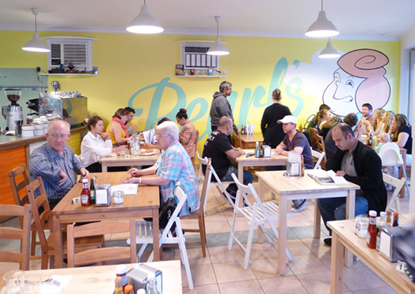 Pearl's Diner, Felixstow, Adelaide