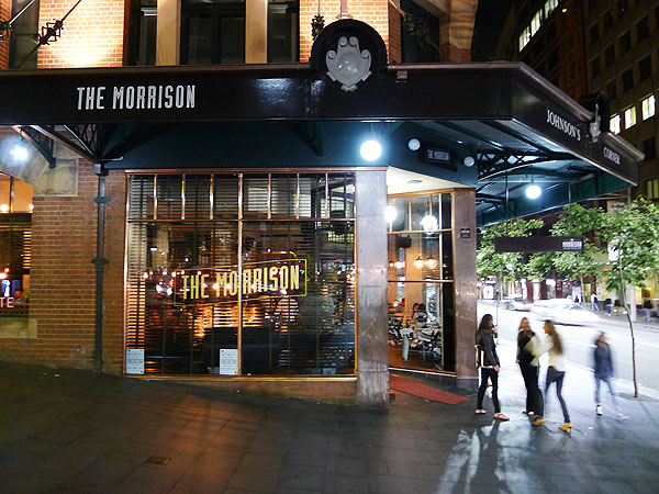 The Morrison Bar and Oyster Room