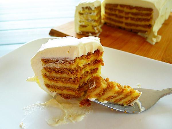 Christmas Recipe:  Spekulatius Torte