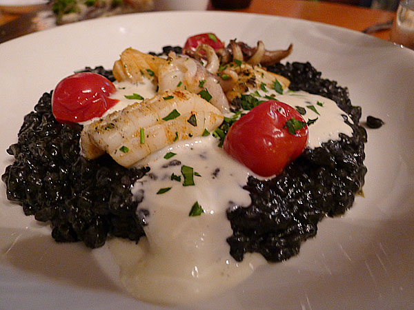 Food Society Squid Ink Risotto