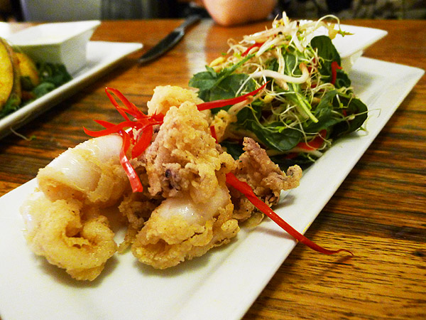 salt and pepper calamari