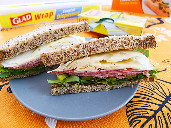 Back to School/Work Lunch Ideas + Win a Year Supply of GLAD Products {Closed}