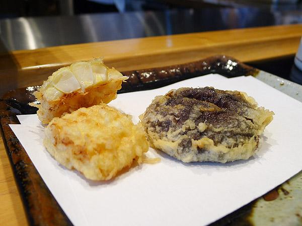 tenichi corn tempura