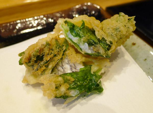 tenichi fish tempura