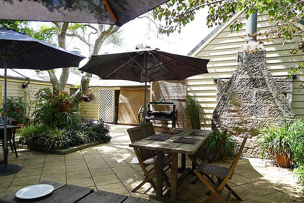 Lochiel House Courtyard