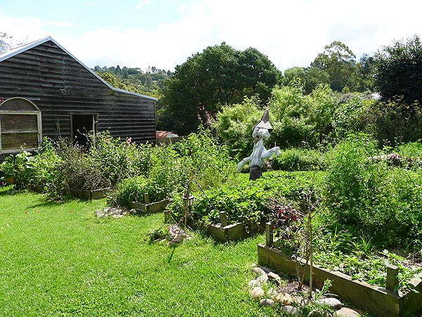 Lochiel House Kitchen Garden