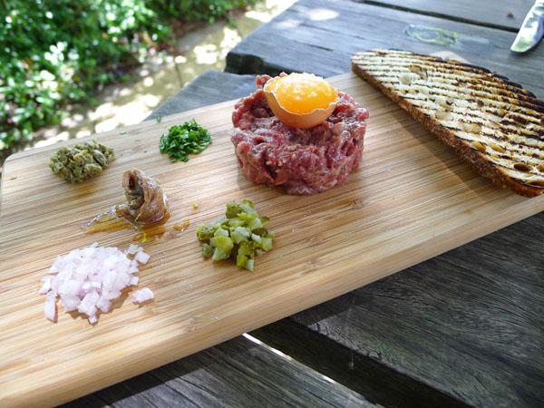 Lochiel House beef tartare
