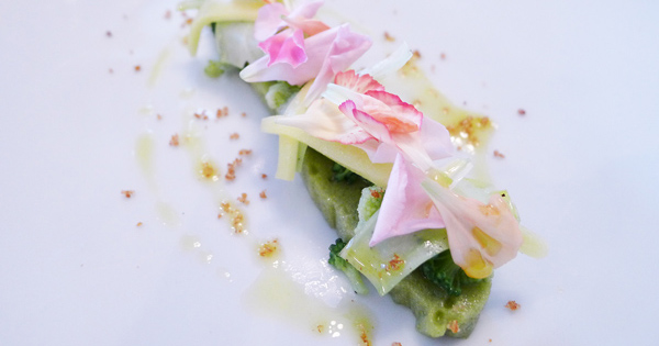 Vegetarian Degustation, Restaurant Atelier