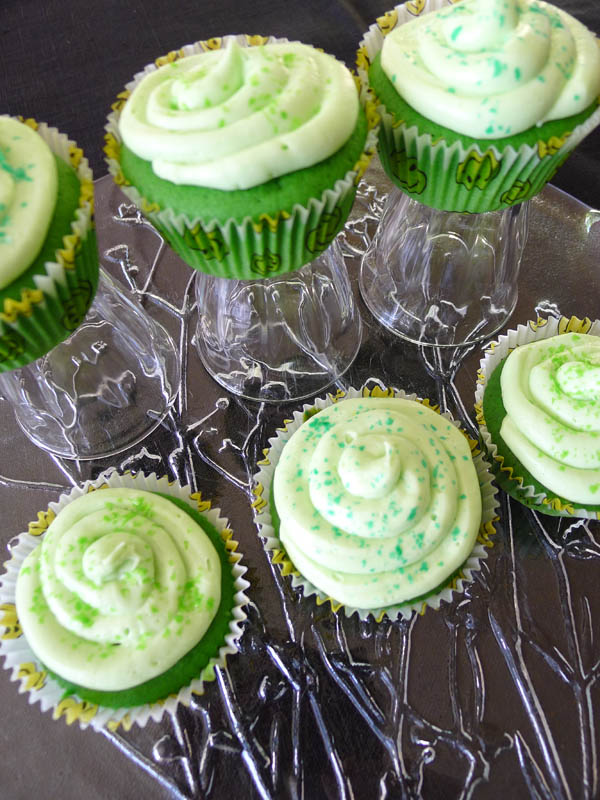 St Patricks Day Cup Cakes 2