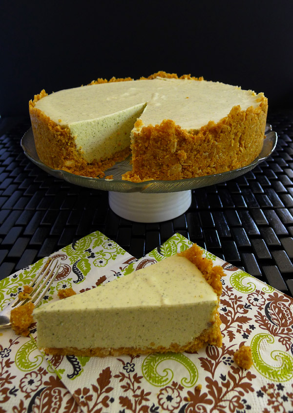 Lemon Myrtle Cheesecake, No Bake | www.bellyrumbles.com