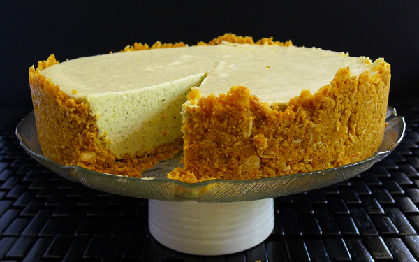 Lemon Myrtle Cheesecake Recipe