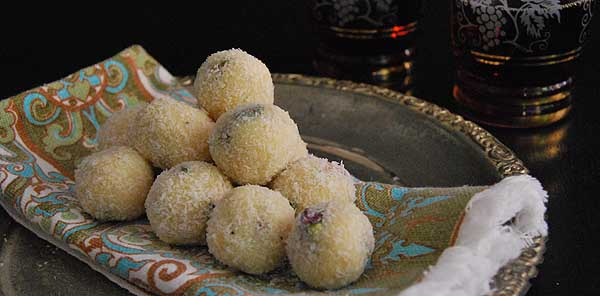Coconut Cardamom Burfi Recipe & The Sweet Swap