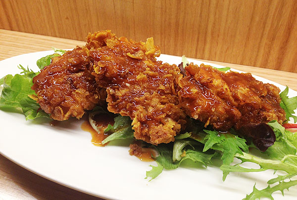 crispy chicken (spicy) $12