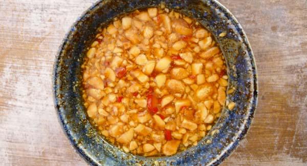 Passionfruit & Peanut Dipping Sauce