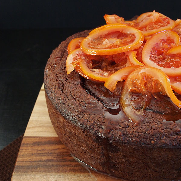 Blood Orange Almond Cake Recipe