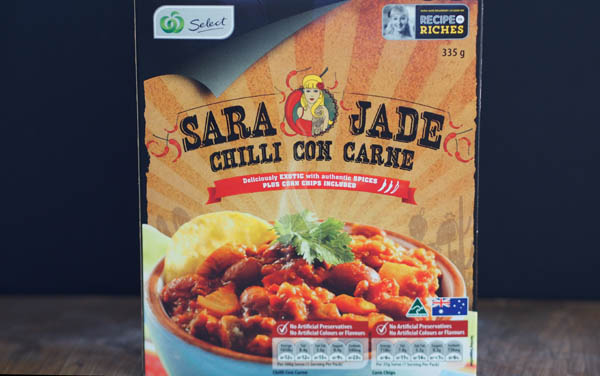 Road Test:  Sara Jade Chilli Con Carne, Recipe to Riches