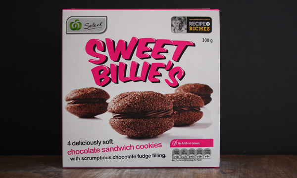 Road Test:  Sweet Billie's Chocolate Sandwich Cookies, Recipe to Riches