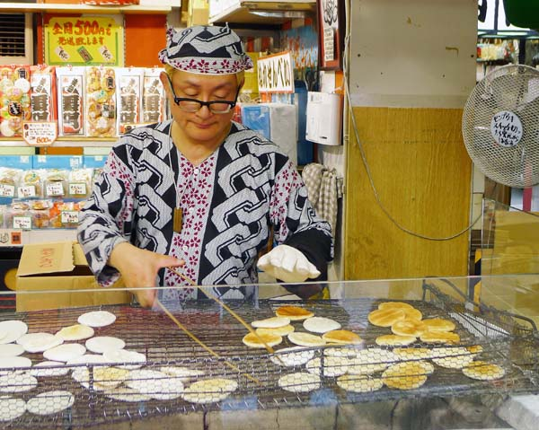 Asakusa Rice Craker Making