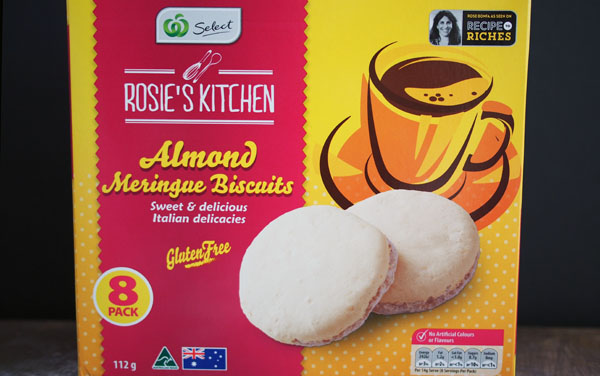 Rosie's Kitchen Almond Meringue Biscuits, Recipe to Riches