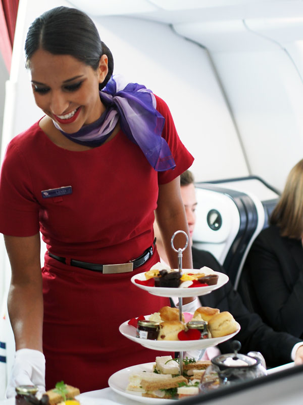 Virgin Australia High Tea