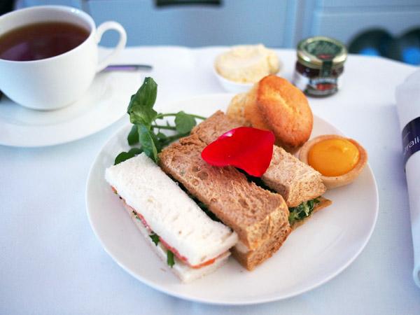 Virgin Australia High tea