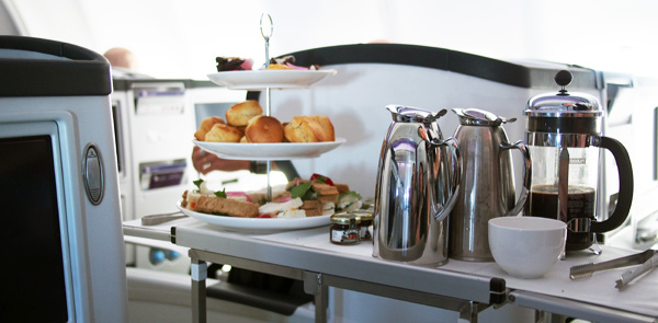 Luke Mangan creates the Highest High Tea for Virgin Australia