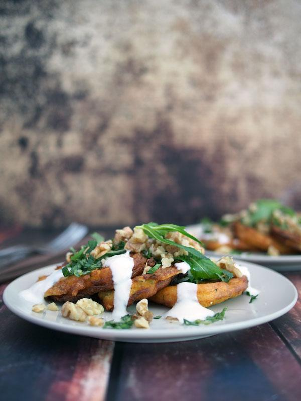 ricotta and fetta fritter recipe