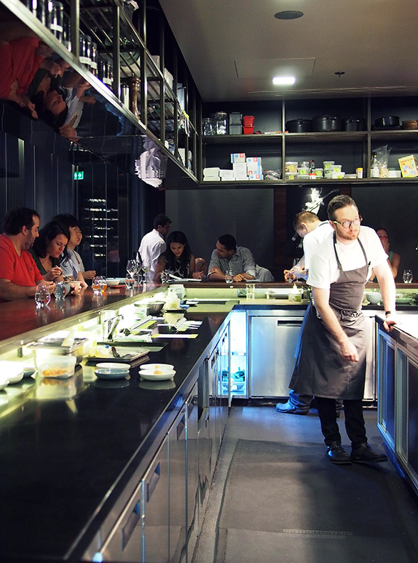 Momofuku Seiobo kitchen
